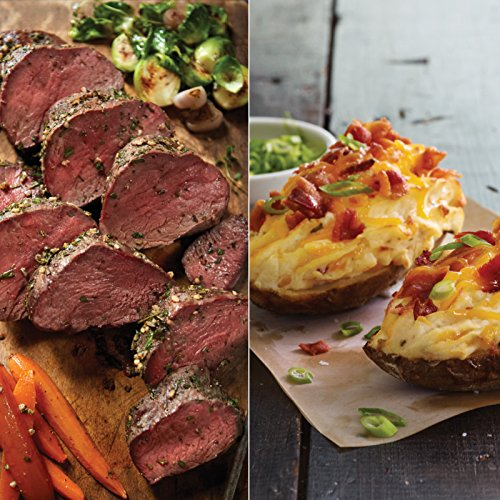 Kansas City Steaks 2 (28oz.) Beef Tenderloin Roasts and 8 (8oz) Twice Baked (Twice Baked Potato)