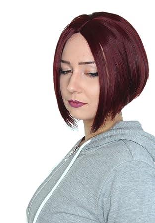 Frisuren mittelscheitel bob