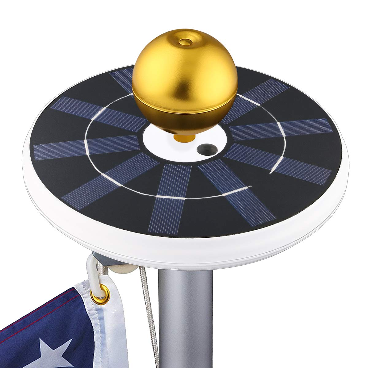 Tranmix Solar flagpole Light