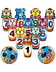 jerryvon Bolos Infantiles de Animales Juegos de Interior y Exterior Regalo para Niños 3 4 5 6 7 Años
