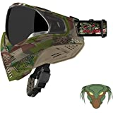 Push Unite Paintball Goggles MASK with Quad PANE Lens and CASE