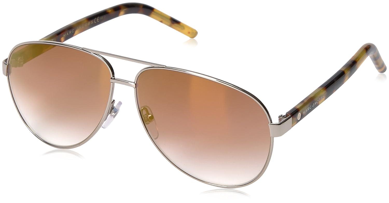 6c6b04d350 Amazon.com  Marc Jacobs Women s Marc71s Aviator Sunglasses Dark Ruthenium  Gray Blue Silver Sp Gradient 60 mm  Clothing