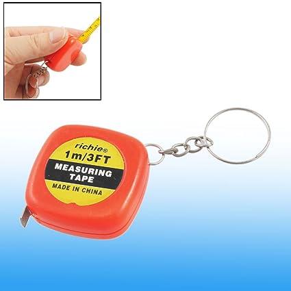 Amazon.com: 100 cm 1 Medidor clave Llavero Cinta métrica ...