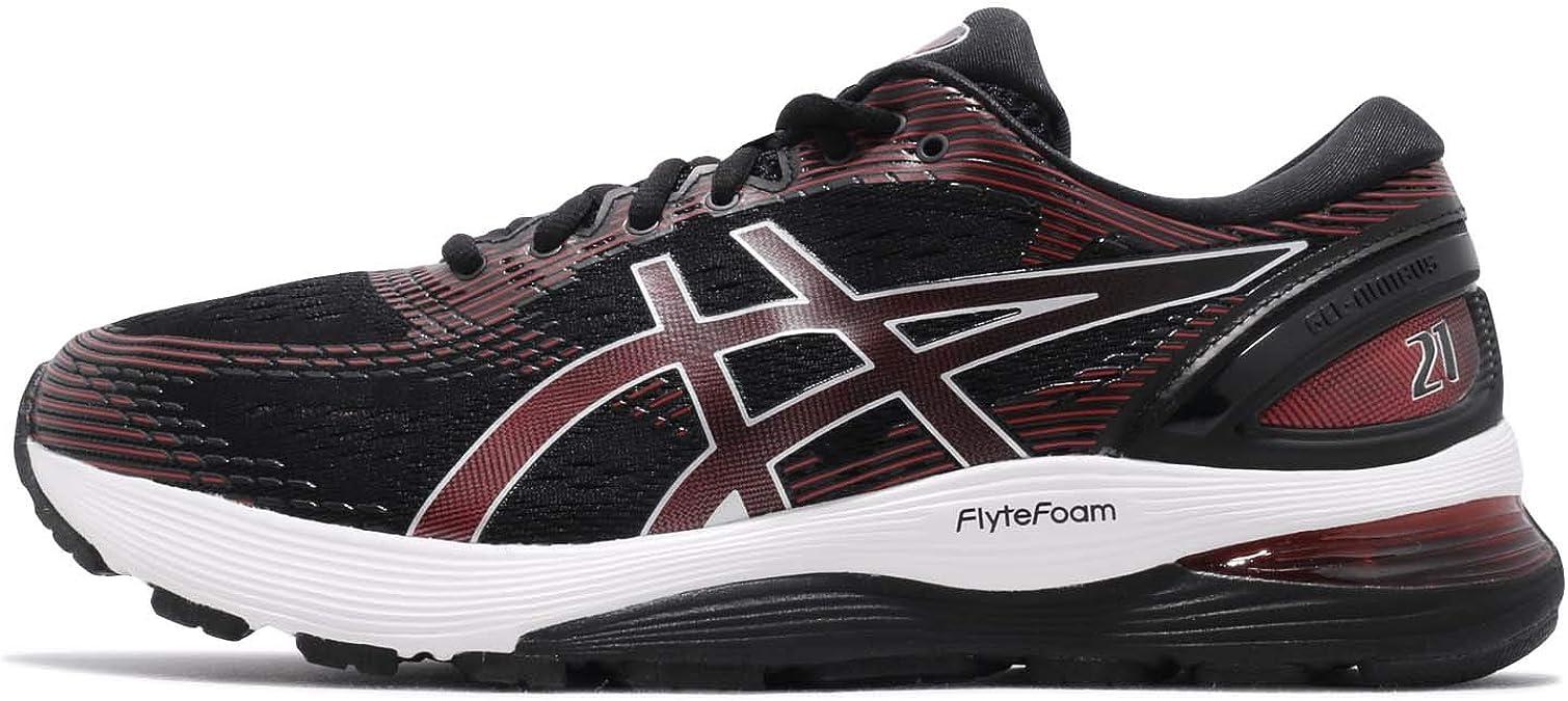 ASICS 1011A169 - Zapatillas de running de competición de Sintético Hombre, color Negro, talla 47 EU: Amazon.es: Zapatos y complementos
