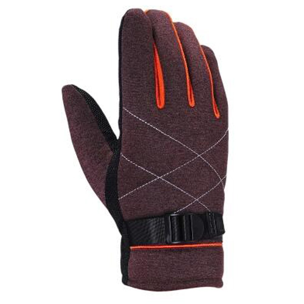 1 Pair Men's Touchscreen Winter Gloves Warm Thicken Full Finger Gloves, NO.26 Kylin Express