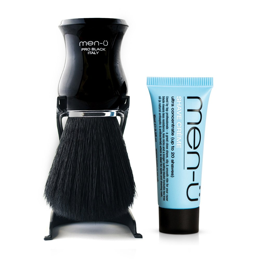 men-ü Pro Black Shaving Brush PBSB