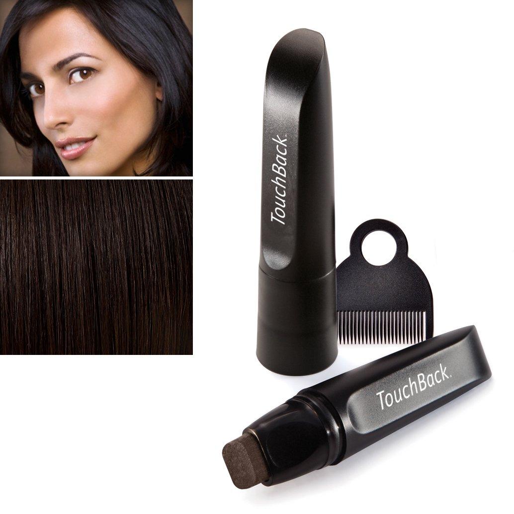 Touch Back para teñir pelo lápiz color marrón oscuro TouchBack 0849141023017