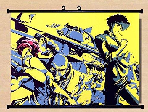 Home Decor Anime Cowboy Bebop Spike Jet Scroll Poster55x40 I