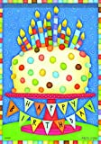 Home Garden Flag Best Deals - Carson Home Accents FlagTrends Classic Garden Flag, Birthday Cake