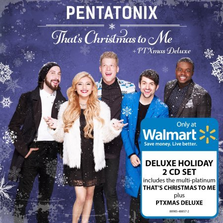 That's Christmas To Me/PTX Xmas Deluxe 2-CD 2015 WALMART EXCLUSIVE by RCA Records