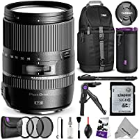Tamron AFB016C700 16-300mm f/3.5-6.3 Di II VC PZD Macro Lens for CANON DSLR Cameras w/ Essential Photo and Travel Bundle Noticeable Review Image
