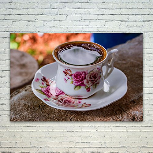 Westlake Art Coffee Cup - 12x18 Poster Print Wall Art - Modern Picture Photography Home Decor Office Birthday Gift - Unframed 12x18 Inch (9D12-954D4)