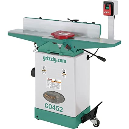 grizzly g0452 jointer, 6-inch: .ca: tools & home improvement
