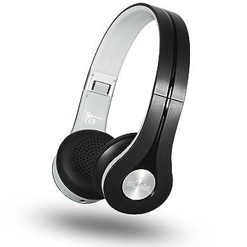 Auriculares Bluetooth – Auriculares inalámbricos iDeaUSA auriculares de con construido en micrófono, ligero, plegable