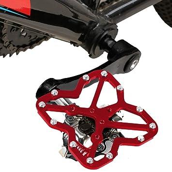 Man-Bicycle Accessories Road Bike Clipless para Pedales Adaptador ...
