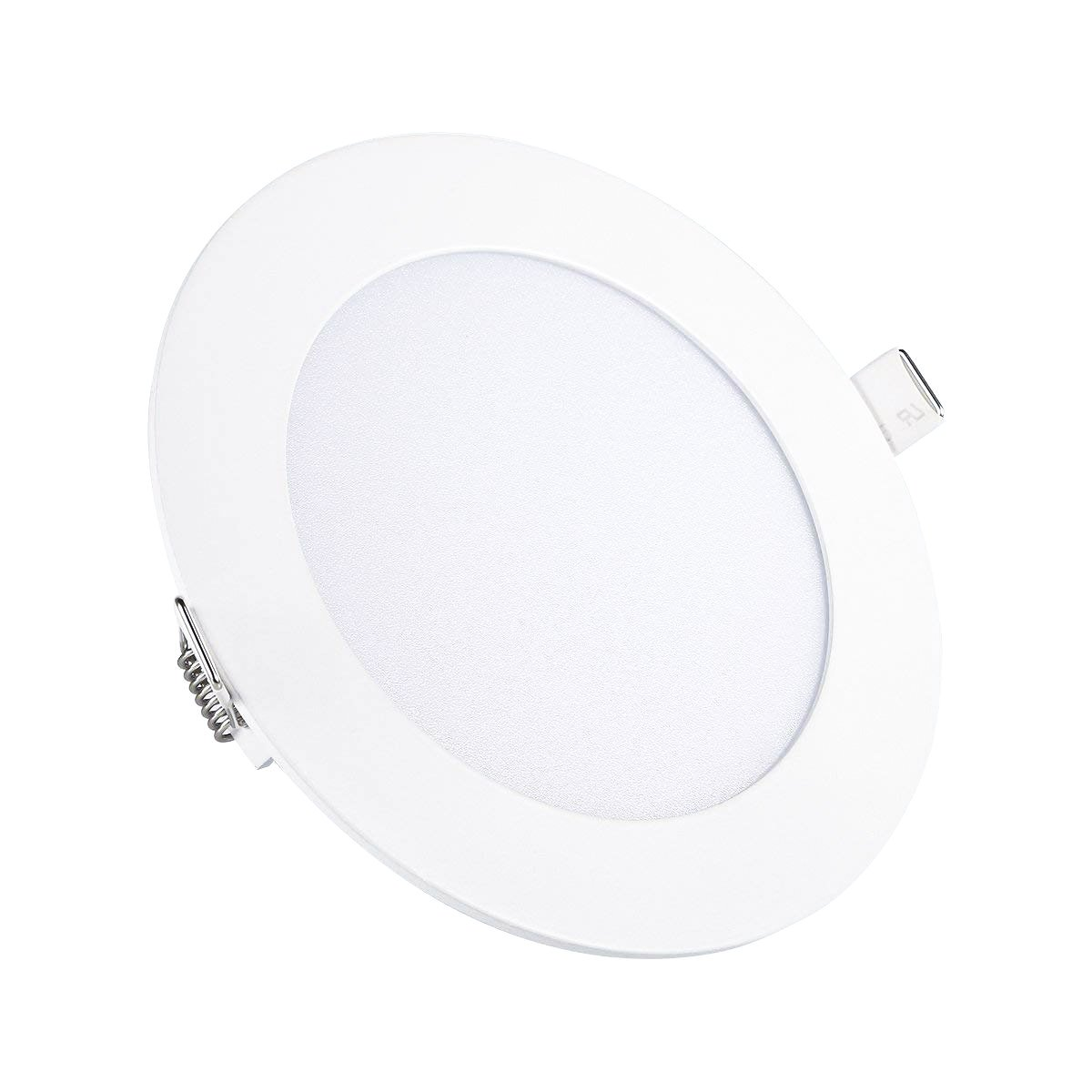 Ceiling Lights, TryLight LED Flush Recessed Dimmable Panel Light, Downlights 9W 4000K for Home Office