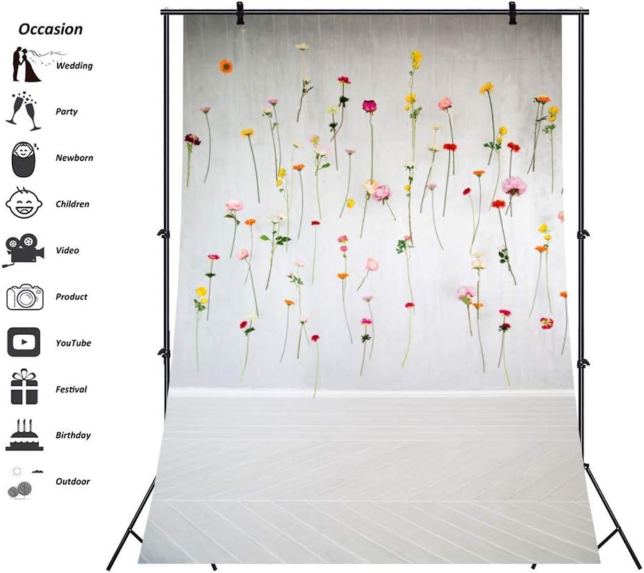 Cassisy 1x1,5m Vinilo Primavera Telon de Fondo Trabajo Artesanal Vistoso Bloom Rose Fondo De Pantalla De Las Flores Fondos para Fotografia Party Photo Studio Props Photo Booth: Amazon.es: Electrónica