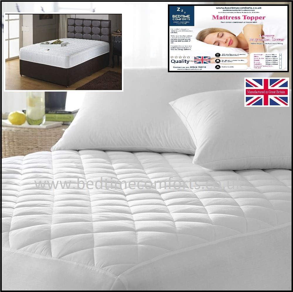 Bedtime Comforts Ltd Euro IKEA - Colchoneta Acolchada (Falda en ...