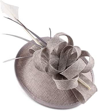 Sombrero de Copa Sombrero Dulce de Flores Negras Decorado