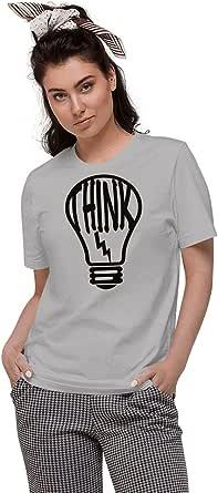 Art Gallery Misr Printed Think T-Shirt Short Sleeve