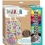 Fashion Angels Enterprises Maker Market Modern Embroidery Kit