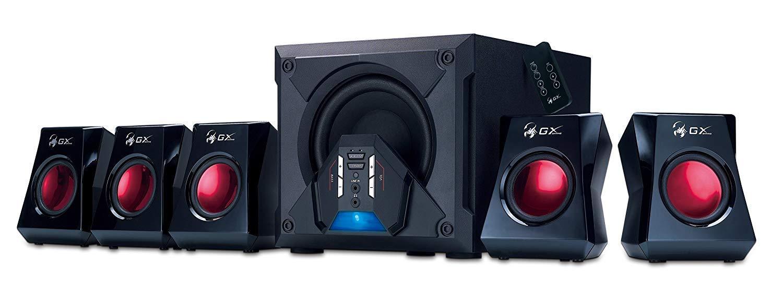 سیستم بلندگو بازی Genius GX-Gaming 5.1 Surround Sound 80 Watts با کنترل از راه دور (G5.1 3500)