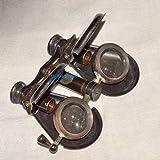 Vintage Brass Monocular Binocular Telescope Antique Nautical Spyglass Scope