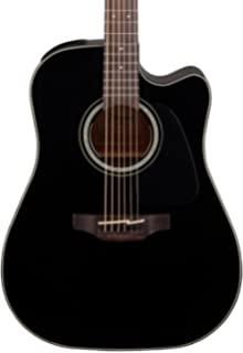 Takamine JB-GD30-CE Dreadnought Cutaway Guitar, Black