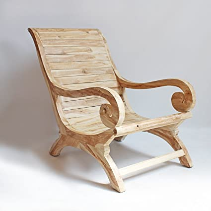 Ordinaire Teak Wood Lounge Chair