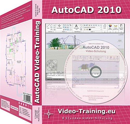 AutoCAD 2010 Video-Training: 8 Stunden Video-Schulung inkl. AutoCAD 2010 Volltestversion