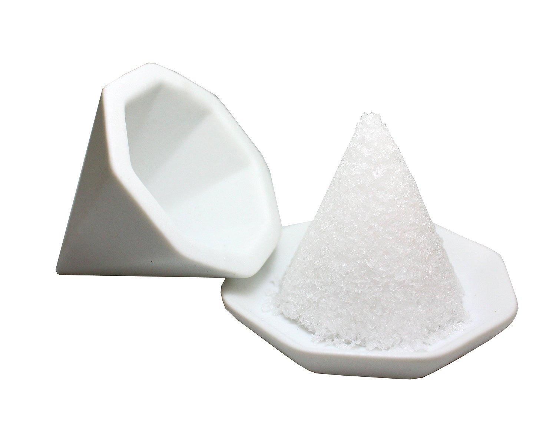 八角盛り塩セット 小/素焼き八角皿5枚セット付き