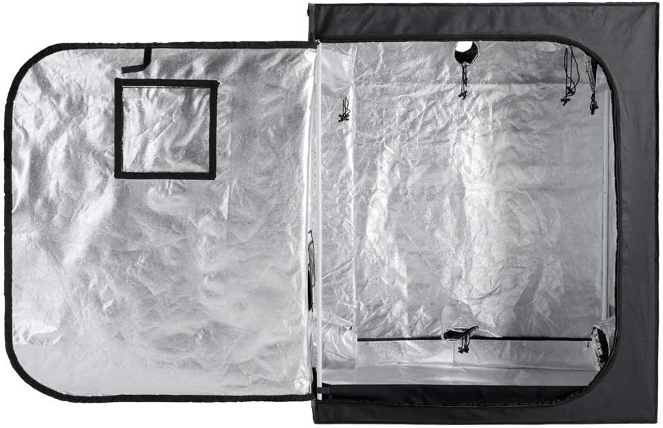 TOPHORT 48x24x60 Plant Growing Tents 600D Mylar Hydroponic Indoor Grow Tent for Plant Growing