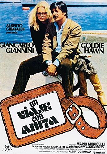 Lovers And Liars (Aka Viaggio Con Anita Aka Un Viaje Con Anite) Goldie Hawn (Eyeglasses) Giancarlo Giannini 1979 ? United ArtistsCourtesy Everett Collection Movie Poster Masterprint (24 x ()