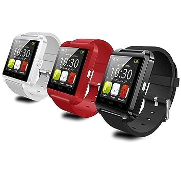 ELEGIANT, U8 Plus Smart Watch Sport la Pantalla táctil Wrist Wrap-Reloj de muñeca con Bluetooth 4,0 para teléfono Inteligente para Smartphone iOS y Android: ...