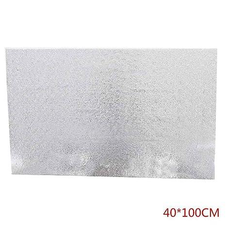 Sunlera Aceite de Cocina Prueba Etiqueta a Prueba de Agua Estufa del Papel de Aluminio Cubiertas