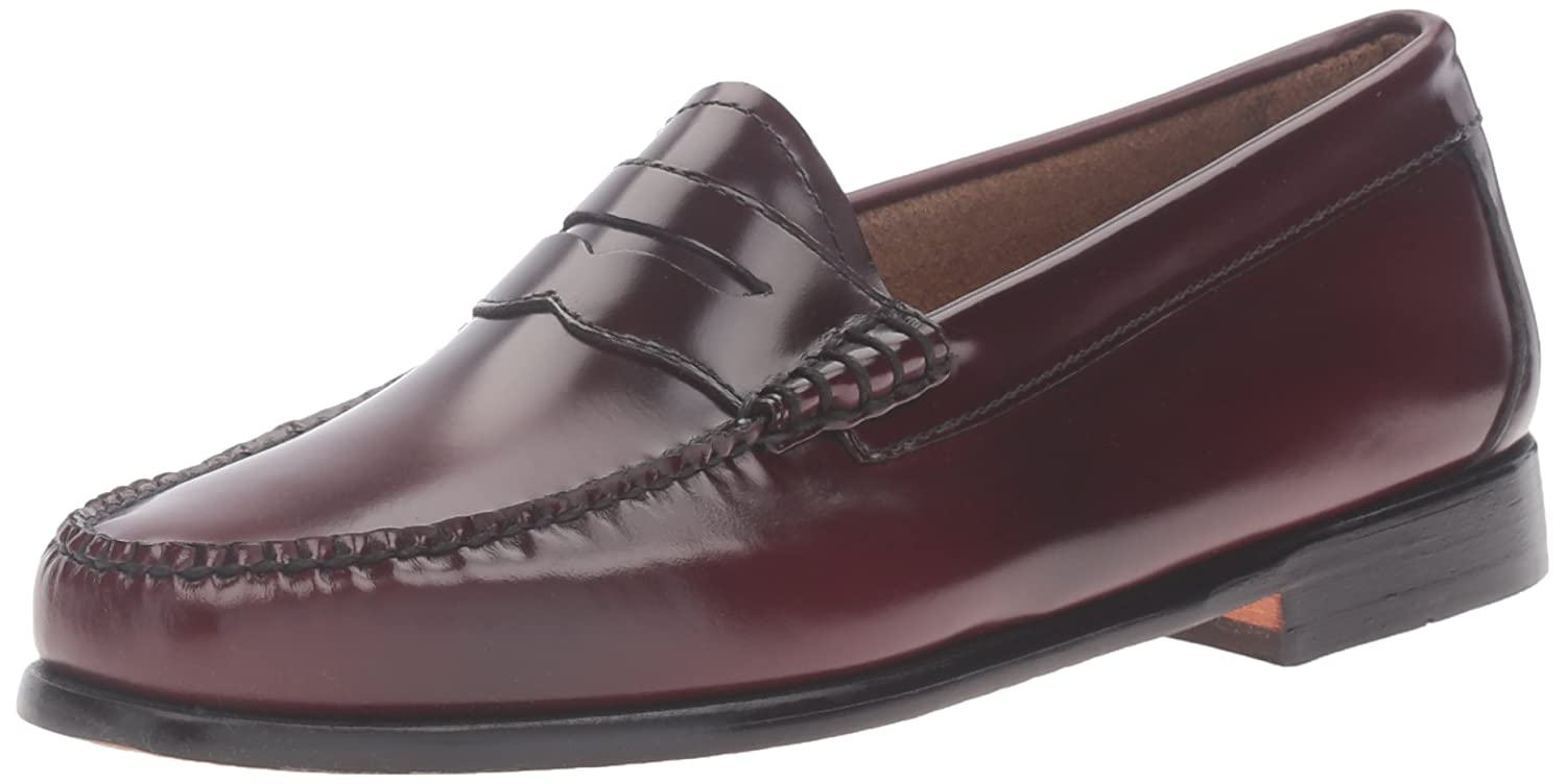 G.H. Bass & Co. Women's Whitney Penny Loafer, Cordovan, 6.5 M US