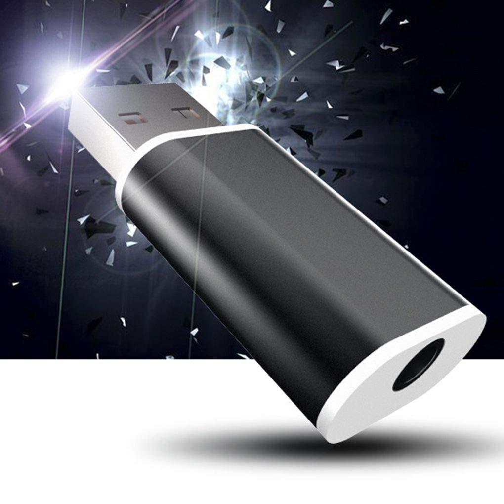 USB External Sound Card Converter USB to Jack 3.5mm Headphone Audio Adapter Mic Sound Card PC Laptop Audio Adapter