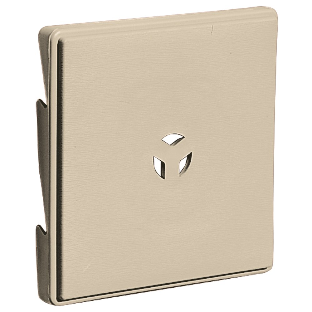 Builders Edge 130110007049 Surface Block for Triple 3'' 049, Almond