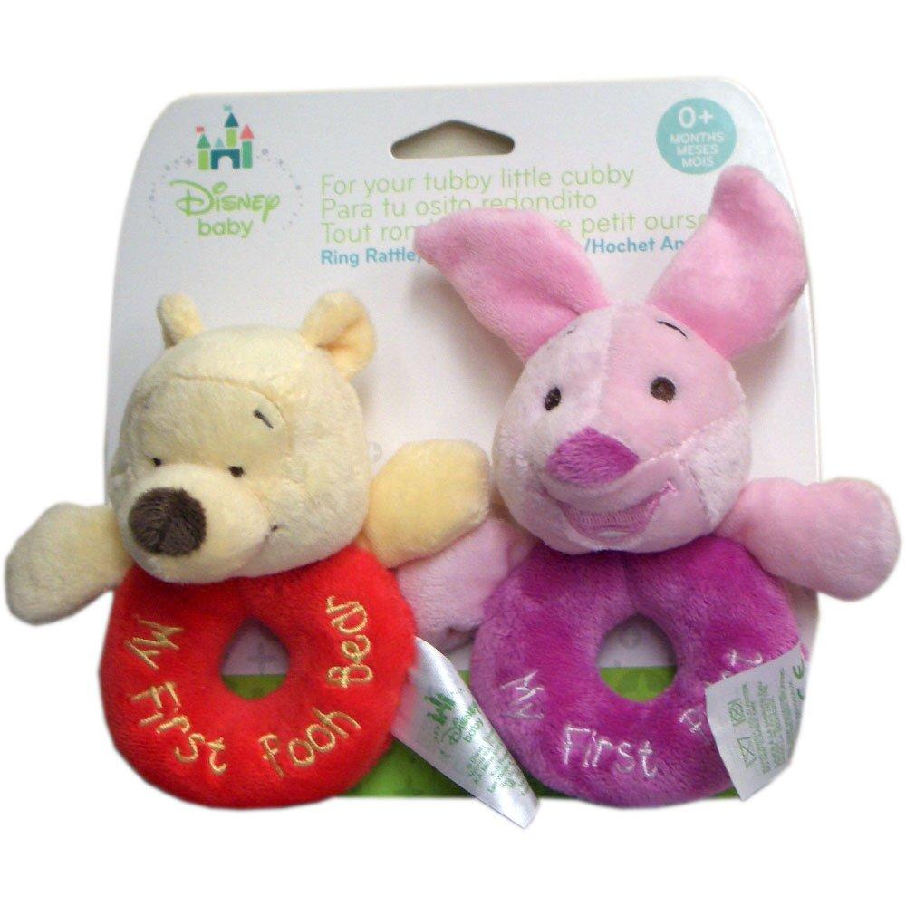 Kids Preferred Loop Rattles, Winnie the Pooh and Friends 79140