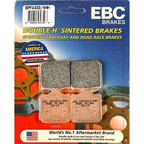 イービーシー EBC ブレーキパッド フロント 01年-07年 アプリリア、ドゥカティ EX-Performance シンタード 610019 EPFA322/4HH   B01N6325RB