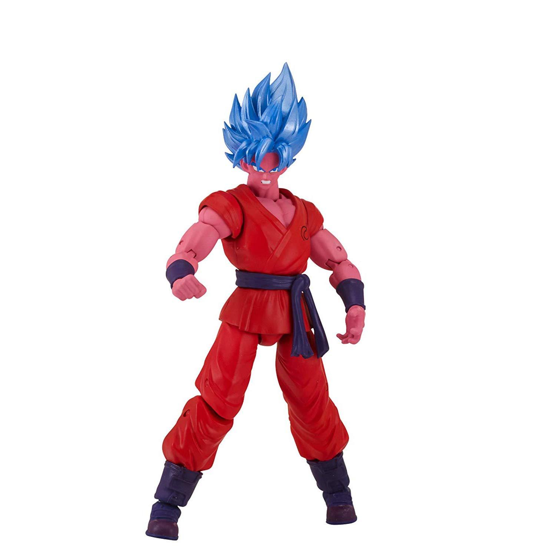 35991 1 Official Dragonball Trading Card Bundle Dragonball Super x Dragon Star Action Figure Wave 6 Bandai Super Saiyan Blue Kaioken x10 Goku