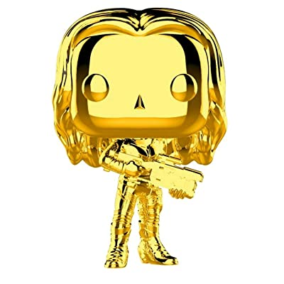 Funko Pop Marvel: Marvel Studios 10 - Gamora (Gold Chrome) Collectible Figure, Multicolor: Toys & Games