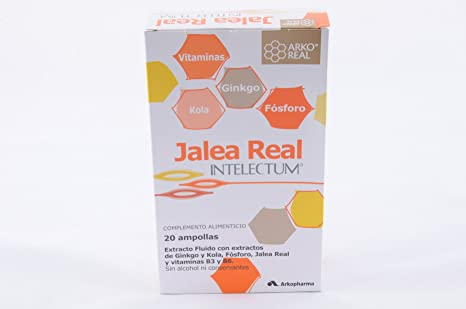 Jalea Real Intelectum Con Fosforo Ampollas Bebi