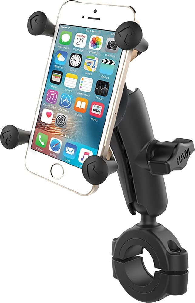 Heavy Duty Motorcycle Bike Bicycle Mount Holder Kit fits Cell Phones Smartphones