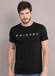 Camiseta Friends Logo Oficial Masculina