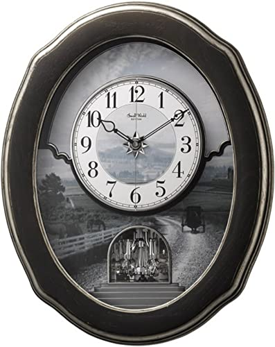 Rhythm USA Joyful Homestead Wall Clock