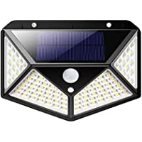 Luminaria Solar Sensor de Movimento Presença Parede LED 3 Funçoes Lampada Prova d'Agua Iluminaçao