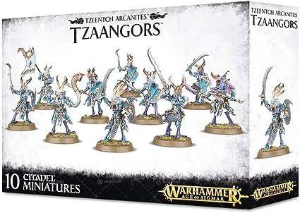 Thousand Sons Tzaangor Shaman Tzeentch Arcanites Warhammer 40k Age Sigmar NEW