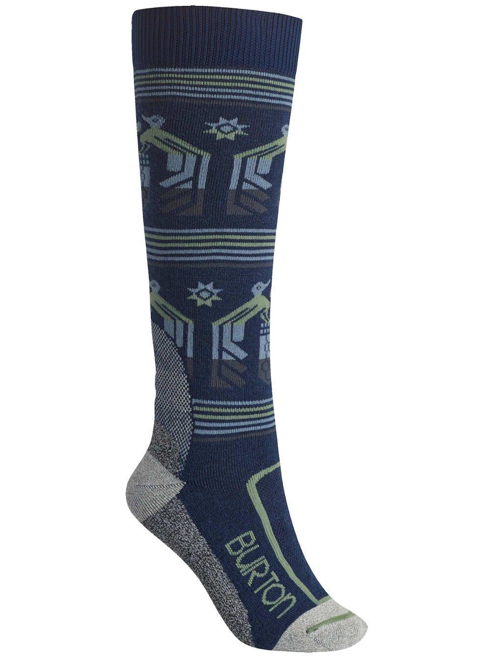 Burton Womens Trillium Snowboard Socks Jaded Size M/L 7-10 by Burton
