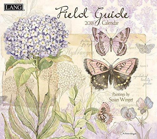 Field Guide 2018 Calendar: Free Bonus Download 12 Images Desktop Wallpaper